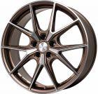 BROCK B40 bronze-copper front-poliert (bcvp) 8.0x19  ET50 LK5/112