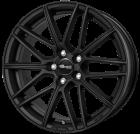 Brock B34 schwarz-matt lackiert 7.5x17 ET35 - LK5/120