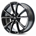 MAM A5 black front polish 8x18 ET35 - LK5/112