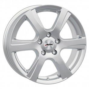 1 Winterkomplettrad Mazda 2 DJ1 15 Zoll Autec Polaric Brillantsilber mit Hankook Winter i*cept W452 RS2 185/65R15 88T