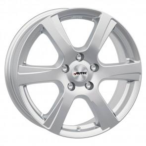 1 Winterkomplettrad Mazda 2 DJ1 15 Zoll Autec Polaric Brillantsilber mit Semperit Master-Grip 2 185/65R15 88T