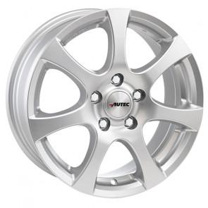 1 Winterkomplettrad Hyundai i10 (III) AC3 14 Zoll Autec Zenit Brillantsilber mit Hankook Winter i*cept W452 RS2 175/65R14 86T XL