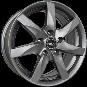 Proline BX100 matt grey 6.5x15 ET45 - LK5/112