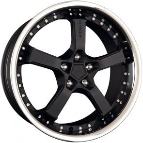 Keskin KT10 Humerus matt black steel lip 9.5x19 ET25 - LK5/100