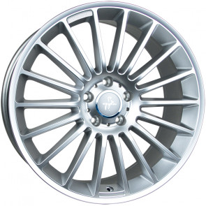 Keskin KT15 Speed silver painted 7x17 ET48 - LK5/108