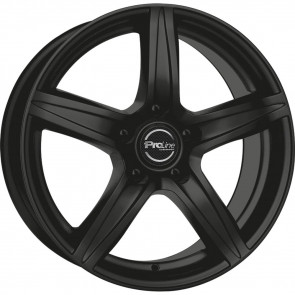 Proline CX200 black matt 6.5x15 ET38 - LK5/105