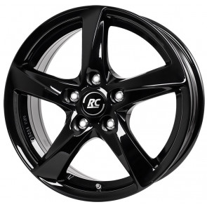 RC-Design RC30 schwarz lackiert 5x14 ET38 - LK5/100