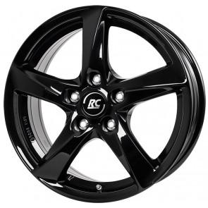 RC-Design RC30 schwarz lackiert 5x14 ET39 - LK4/100