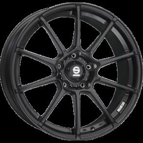 Sparco Assetto Gara matt black 7x16 ET16 - LK4/108
