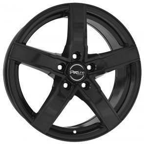 ProLine Wheels SX100 Black Glossy 6.0x15 ET42 LK5/114,3