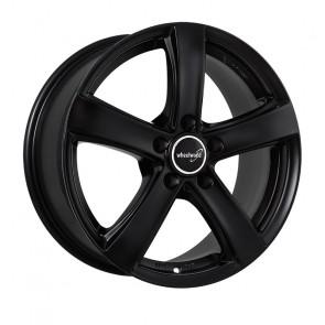 Wheelworld WH24 schwarz matt lackiert 6.5x16 ET50 - LK5/108