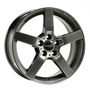 Wheelworld WH31 daytona grau lackiert 6.5x16 ET33 - LK5/112