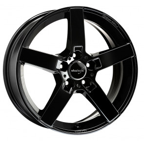 Wheelworld WH31 schwarz glänzend lackiert 6.5x16 ET33 - LK5/112
